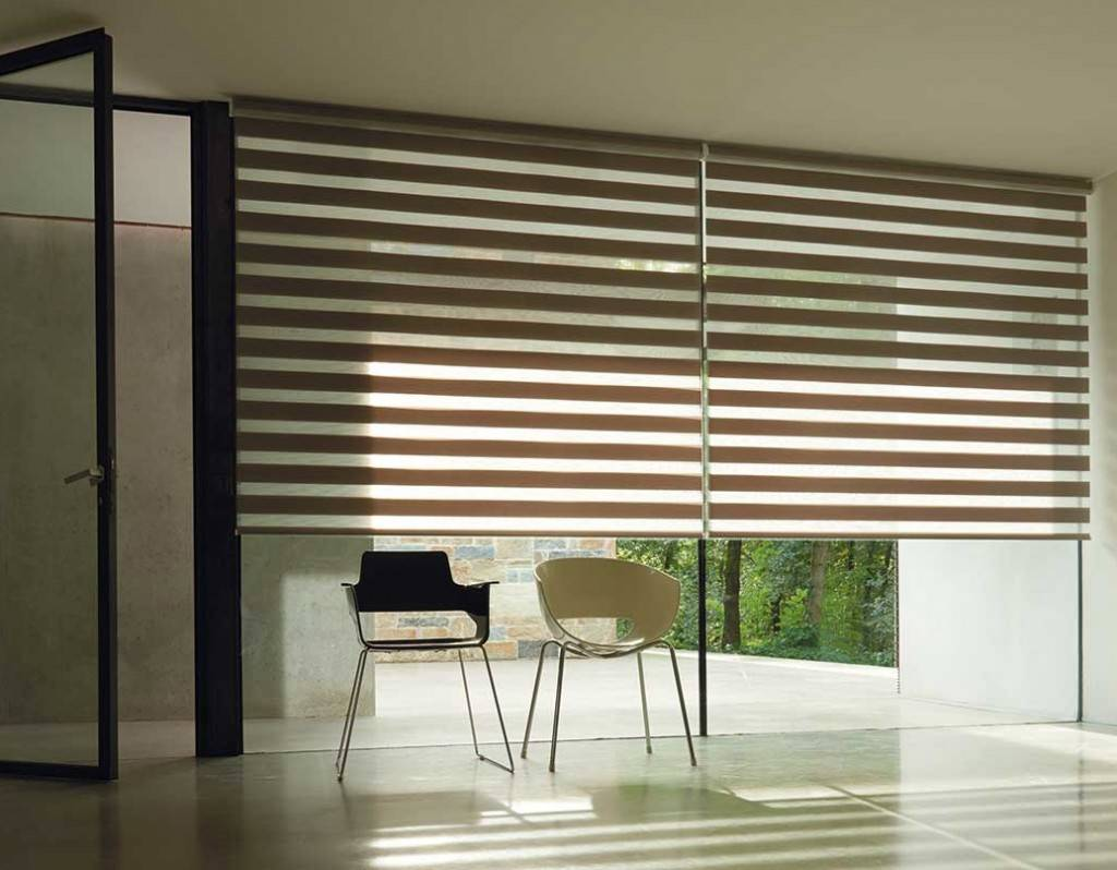Double Roller Shades : Double rollers window blinds in boca raton fl