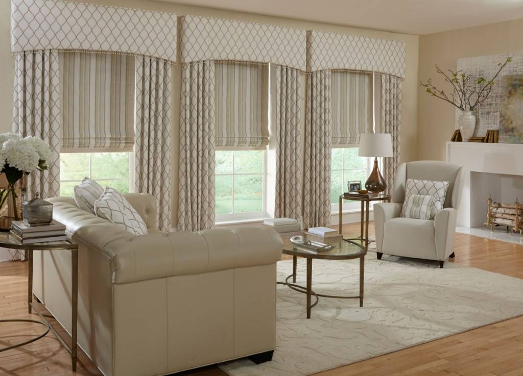 livingroom window treatments custom window drapes amp curtains delray fl boca 14028