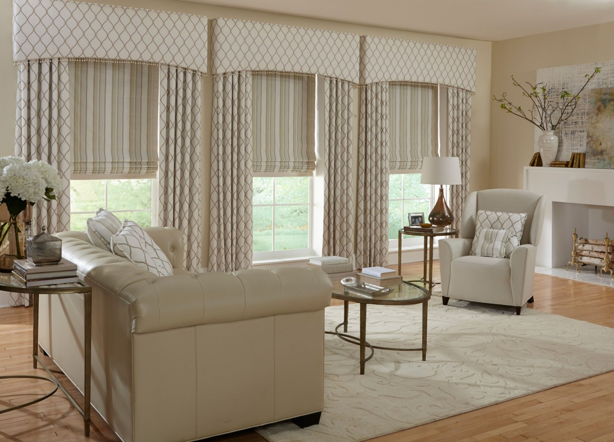 Custom window drapes curtains delray beach fl boca for Formal living room