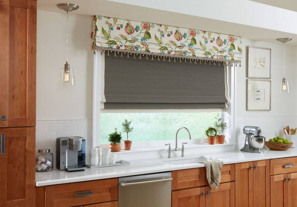 Custom window drapes curtains delray beach fl boca for Valance curtains for kitchen