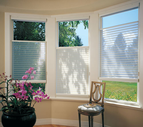 Silhouette Style Window Shades in Boynton Beach FL