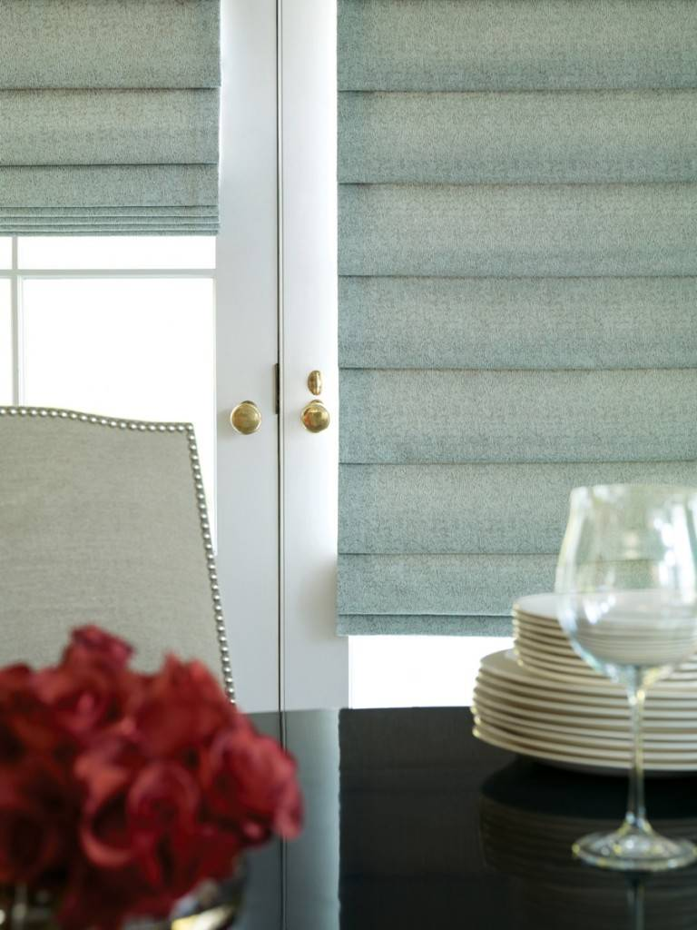 Roman Fabric Pull Down Window Shades Delray Beach Fl